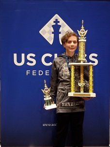Tristan went undefeated at Nationals!
